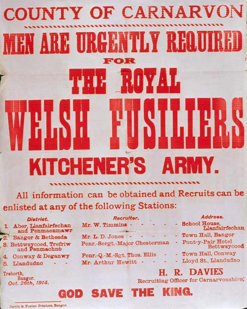 Archive | The Royal Welch Fusiliers Museum at Caernarfon Castle